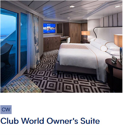 Club World Owners Suite