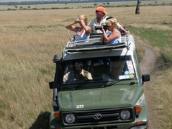 Game Drive During Camp Transfer